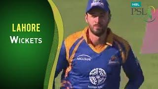 Match 2 - Karachi Kings vs Lahore Qalandars: Lahore Innings Wickets