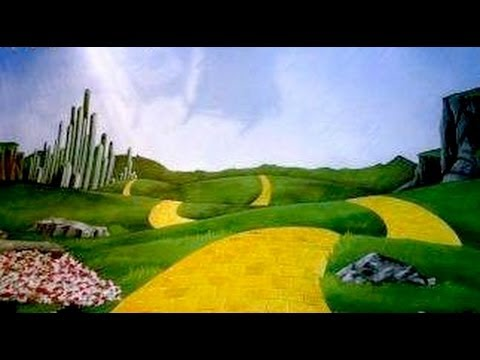 The Wizard Of Oz Broadway Musical Backdrops Suggestions By Charles H Stewart