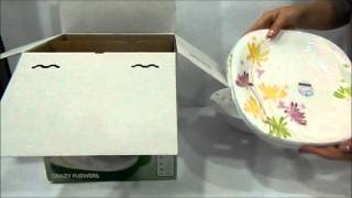 Столовый сервиз Luminarc Crazy Flowers 19 предметов E8047(В этом столовом сервизе есть все, что необходимо для базовой комплектации кухни - по 6 столовых, суповых,..., 2015-09-17T19:17:50.000Z)