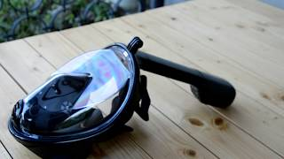 Обзор маски для плавания с креплением для экшнкамеры