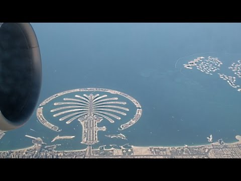 *Stunning* | Etihad Airways | EY404 | Boeing 77W – A6-ETB | Abu Dhabi Take Off & Dubai Flyby | HD |