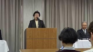 2018年4月7日(土)に行われた姫路地区連の指導者講習では宗家が和歌を指...