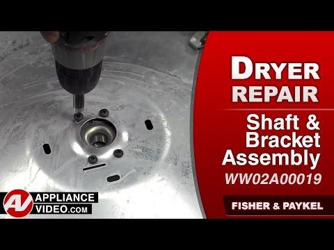 Fisher & Paykel Dryer  - Drum Bearing Repair