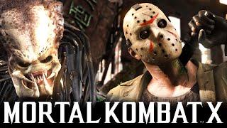 Mortal Kombat X - ХИЩНИК VS ДЖЕЙСОН