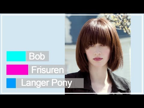 Bob Frisuren Langer Pony
