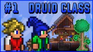 BIJE MAŁO, ALE DUŻO - Terraria: Druid Class #1 (z Ryfkiem)