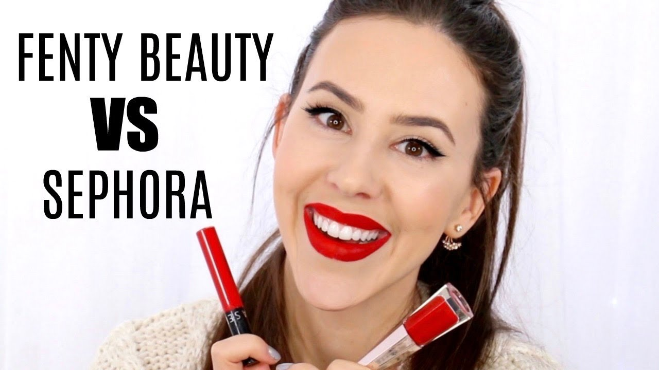 Best Liquid Lipstick Fenty Beauty Stunna Lip Paint Longwear Fluid Lip Color Sephora Cream Lip Stain Youtube