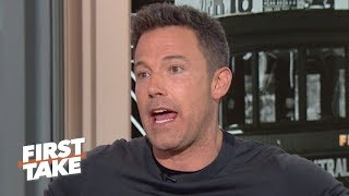 Ben Affleck defends his Red Sox and reacts to the Astros' sign-stealing controversy | First Take