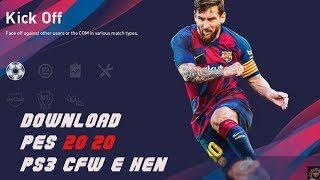 PES 2020 PS3|  DOWNLOAD GRÁTIS PS3  CFW  E HEN!