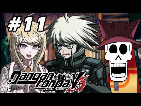 Danganronpa V3 w/ Noby - EP11 - Preparing & First Free Time! - Chapter 1 (VN Adventure - Blind)