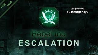 Rebel Inc: Escalation - First Look gameplay