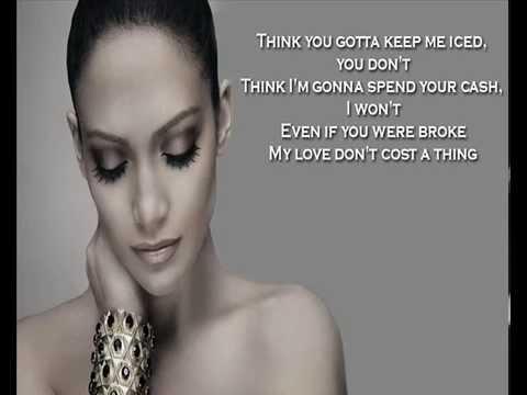 Jennifer Lopez + My Love Don't Cost A Thing + Lyrics/HQ