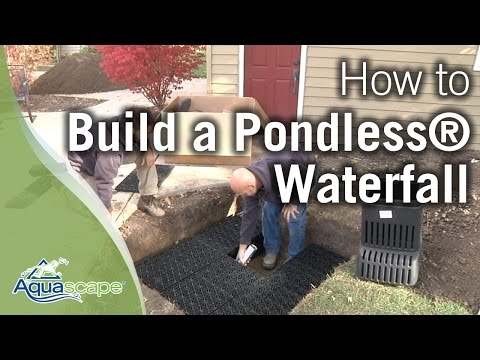 "Aquascape's ""NEW"" How To Build a Pondless® Waterfall"