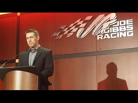 Watch the full Carl Edwards press conference as...
