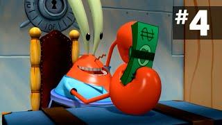 Губка боб: Планктон месть роботов - 4 серия (Прохождение игры)