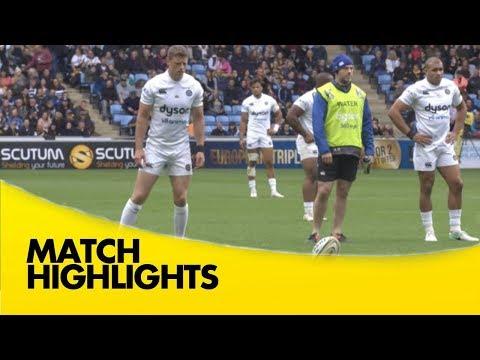 Wasps V Bath Rugby - Aviva Premiership Rugby 2017-18