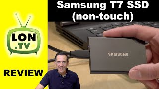 Samsung T7 (Non-Touch) Portable SSD Review vs. Touch Version