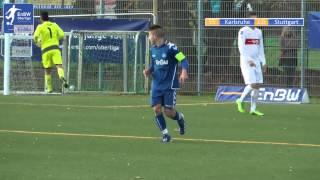 EnBW-Oberliga B-Junioren: Karlsruher SC 2 - VfB Stuttgart 2