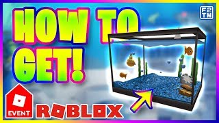 Roblox Events - Aquarium Hat from SharkBite (Atlantis Event)