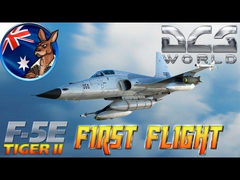 DCS World: F-5E Tiger II (First Flight)