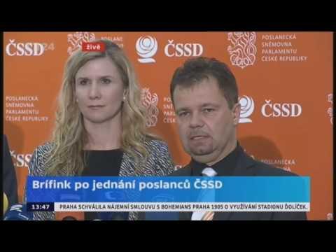 TK Poslaneckého klubu ČSSD 17. ledna 2017