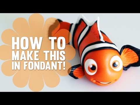 How to Make Nemo from Finding Nemo - Cake Decorating Tutorial