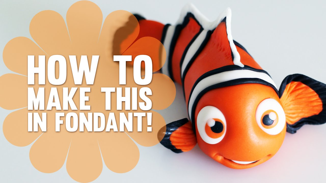 How to Make Nemo from Finding Nemo Cake Decorating Tutorial YouTube