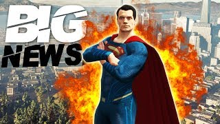 BIG SUPERMAN OPEN WORLD GAME LEAKS REVEAL DATE IN 3 WEEKS?