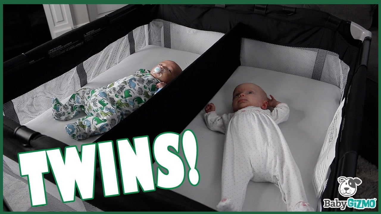 Joovy Room2 Playard With Twin Nursery Center Review Youtube