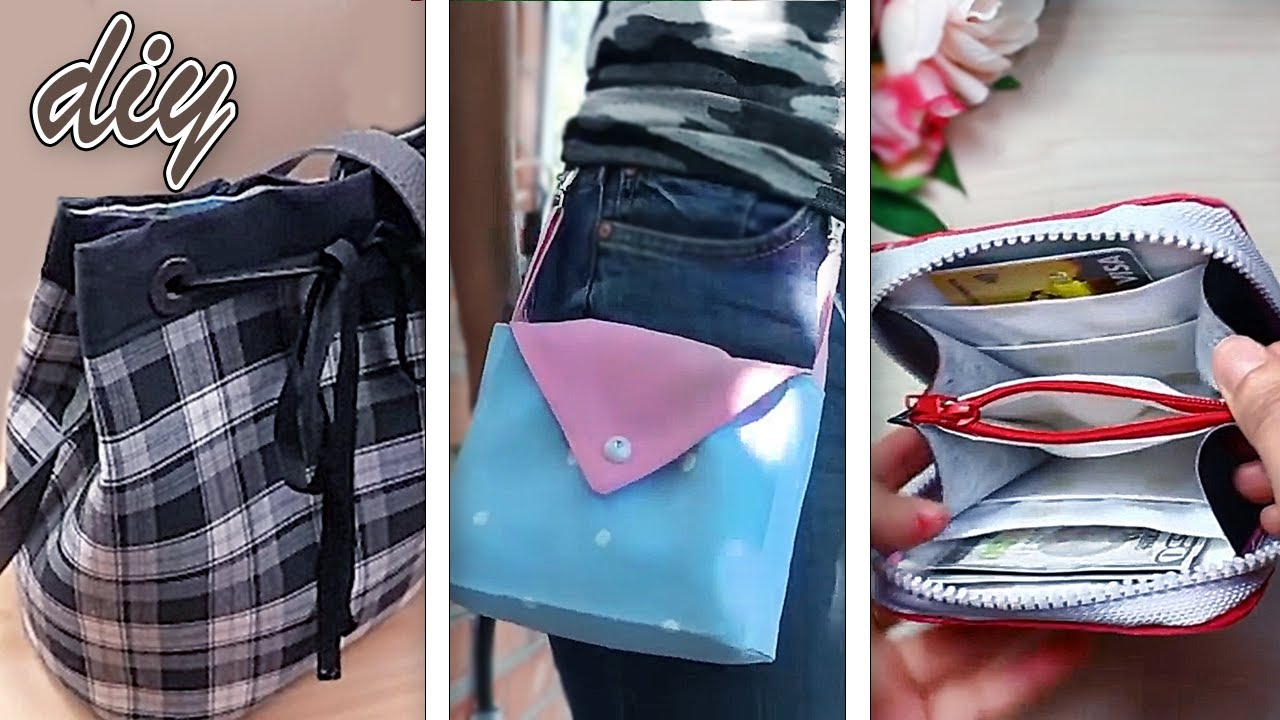 MOST SIMPLE WAYS TO SEW POPULAR DESIGN BAGS 👍 DIY Old Clothes Recycle Ideas