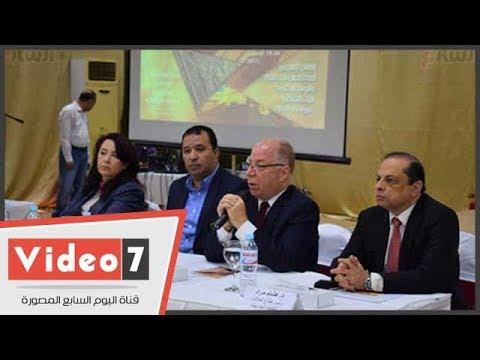 وزير الثقافة من الأقصر: نسعى لتوثيق وحفظ التراث العربى بالكامل عبر -ملف النخلة-  - 17:22-2017 / 12 / 16