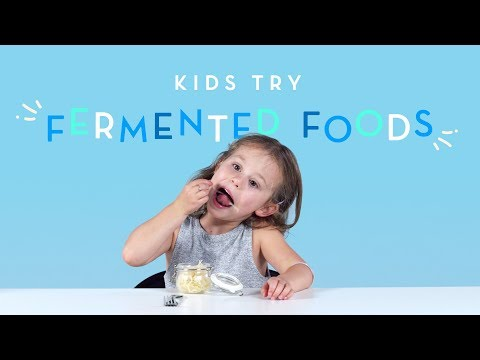 Kids Try Fermented Foods | Kids Try | HiHo Kids