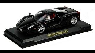 MINHAS MINIATURAS #1 Ferrari Enzo 1/43 Ferrari Collection & Revista Quatro Rodas Especial