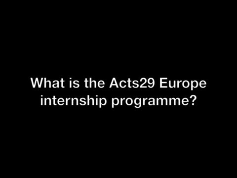 Ask Steve: What is the A29 Europe internship programme?