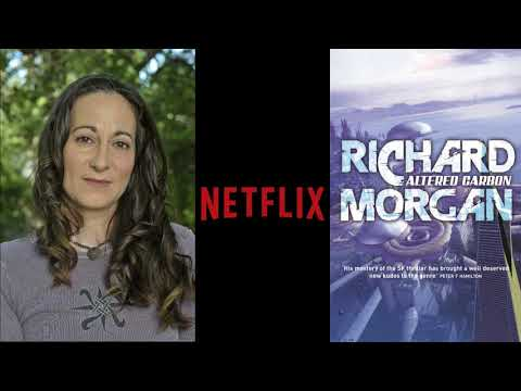 Netflix Altered Carbon Set Visit: Laeta Kalogridis