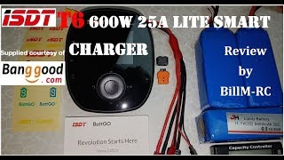 ISDT T6 Lite 600W 25A Smart Battery Balance charger review