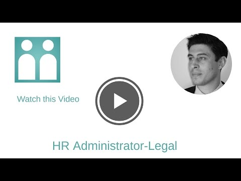 HR Administrator-Legal