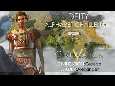 Let's Play: Civilization 5 Deity Greece - Alphabet Challenge [Part 5 END]