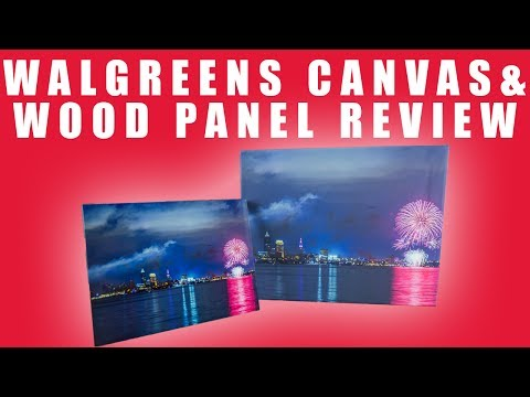 Walgreens Canvas & Wood Panel Prints REVIEW 2017