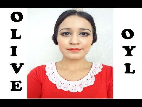 How To :Olive Oyl Tutorial (Popeyes wife) Costume Halloween