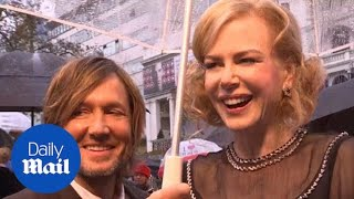 Nicole Kidman jokes with husband at Paddington premiere - Daily Mail