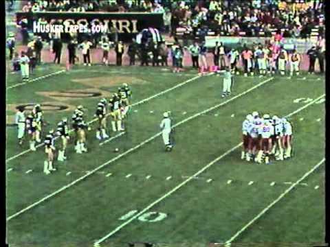End of 1981 Nebraska vs Missouri