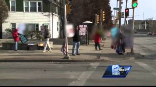 Westboro Baptist Church members hold protest in Milwaukee