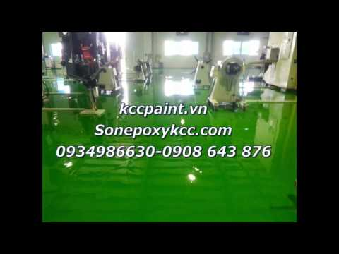 Chuyên thi công Sơn sàn EPOXY tại quận 12 chất lượng giá rẻ 093 498 6630