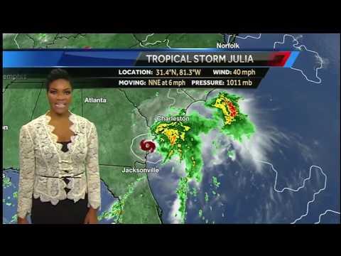Tropics Update 9/14: Tropical Depression 12 forms, headed westward in Atlantic