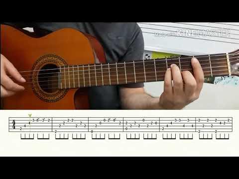 Gitar Dersi Bu Benim Oykum Fingerstyle Tab