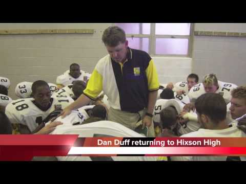 Dan Duff returns to coach Hixson High School football