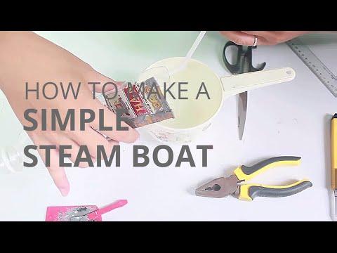 Making a Simple Pop Pop Boat