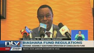 Treasury defends consolidation of funds into Biashara Fund