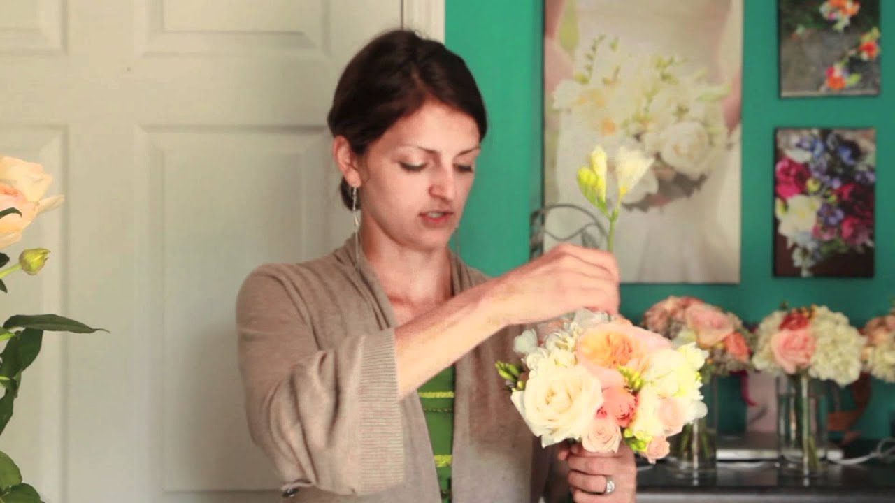 How to Make Your Own Wedding Bouquet - YouTube
